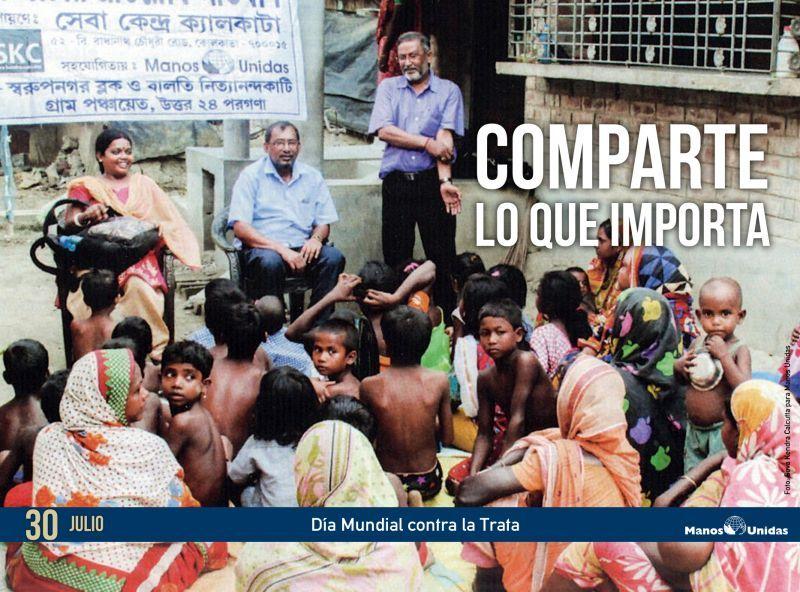 Manos Unidas ha realizado 21 proyectos contra la trata en los últimos 8 años