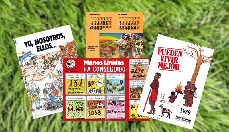 Materiales educativo Manos Unidas