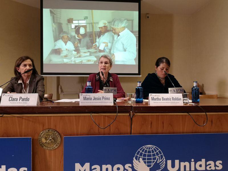 Rueda de Prensa de la presentación de la Campaña número 60 de Manos Unidas
