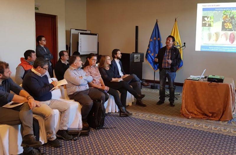Foto César Cañate - Manos Unidas participa en la segunda reunión del grupo de trabajo de Desarrollo Productivo de Actores Europeos en Ecuador