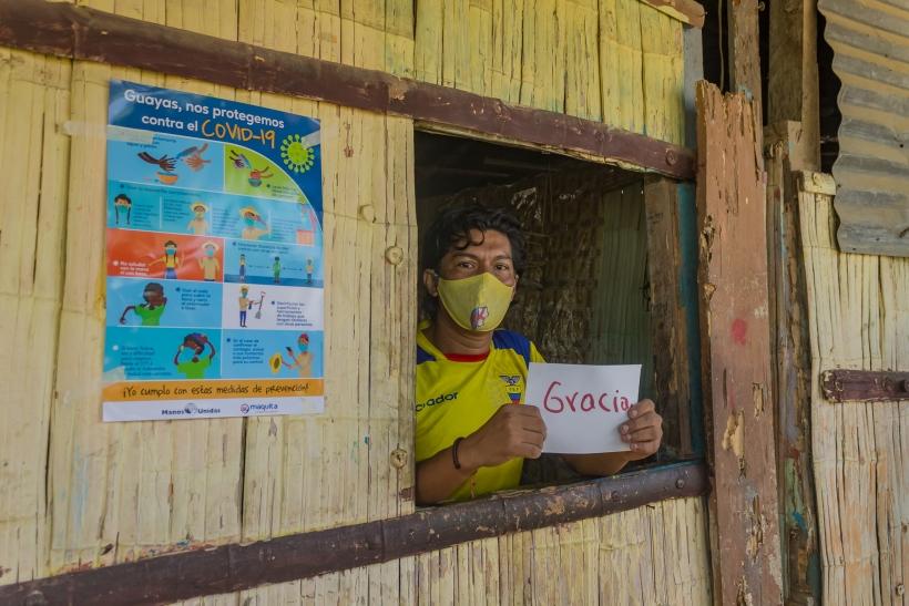 Vacuna contra la Covid-19: ¿una nueva injusticia?. Foto: Fundación Maquita