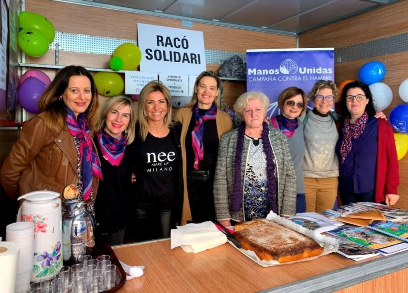 Manos Unidas Albal celebra San Blas con Mesa Solidaria.