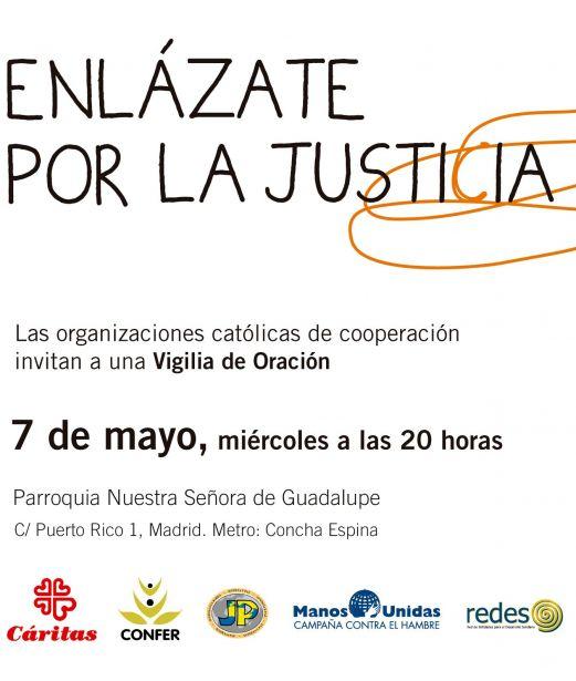 """Vigilia de oración """"Enlázate por la Justicia"""""""