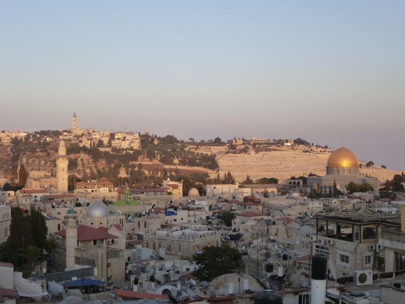 Vista de Jerusalén. Foto: Manos Unidas/ Africa Marcitllach