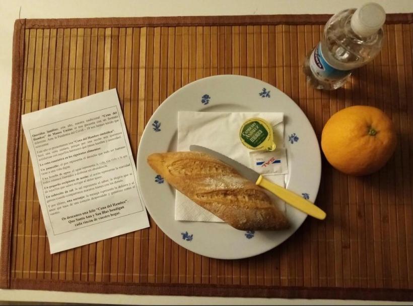 La comarcal de Albal organiza la Cena del Hambre Simbólica. Manos Unidas Valencia