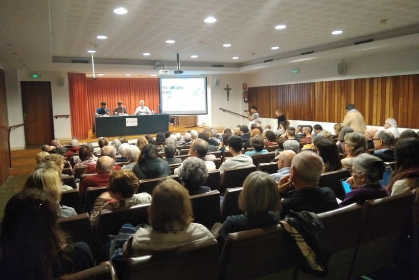 Los Lunes de Los Derechos Humanos se celebran en Barcelona en el auditorio de Cristianisme i Justícia