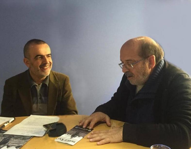 """Miquel Cubeles en el programa """"El Mirall"""" de la COPE"""