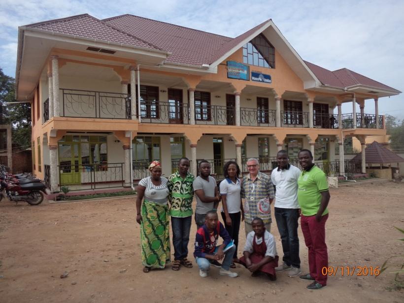 Centro Pedagógico en Congo, construido gracias a Manos Unidas.