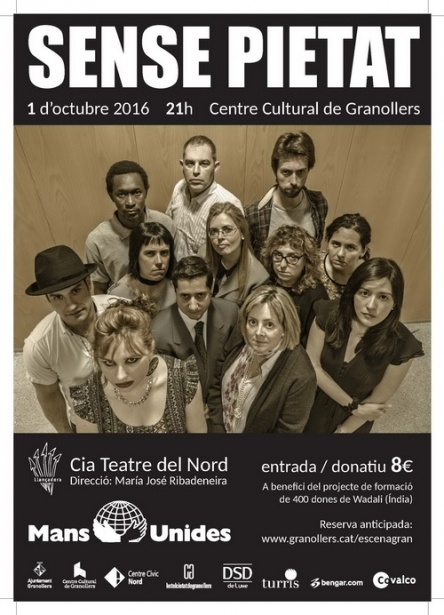 Obra de teatro solidaria en Granollers