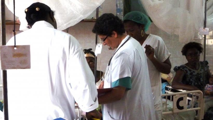 Coronavirus_Cristina Anolin en el hospital_ Foto:Ricardo Olmedo