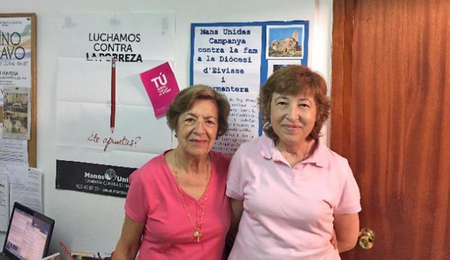 Nueva presidenta de Manos Unidas Ibiza, Pepita Ribas