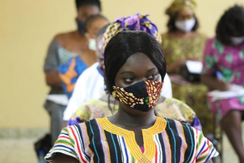 «El silencio cómplice» (Día Internacional de la Eliminación de la Violencia contra la Mujer 2020). Foto: Manos Unidas en Sierra Leona