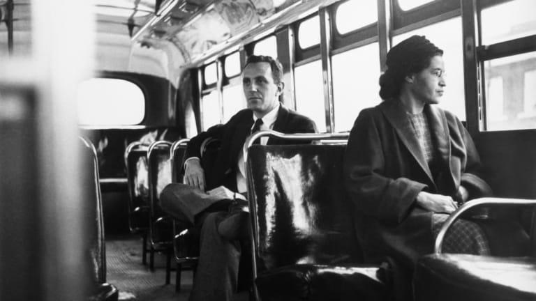 Rosa Parks, defensora de los derechos civiles