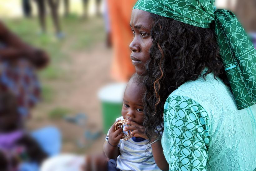 la mujer es mucho más vulnerable a la pobreza. Foto: Manos Unidas/Marta Isabel González en Senegal
