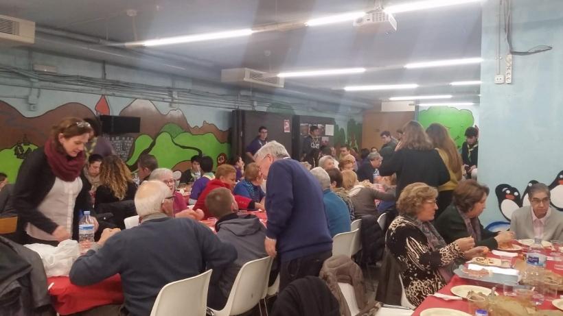 Cena Solidaria en la parroquia de Sant Joan de Reus