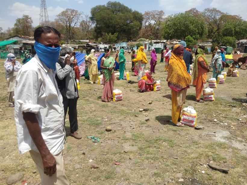 El hambre en le mundo vuelva a aumentar. Foto: Manos Unidas en India