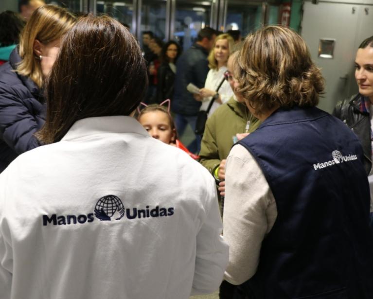 Día Internacional del Voluntariado 2020. Foto: Manos Unidas