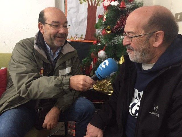 Ángel Expósito:Premios Manos Unidas:Foto:COPE