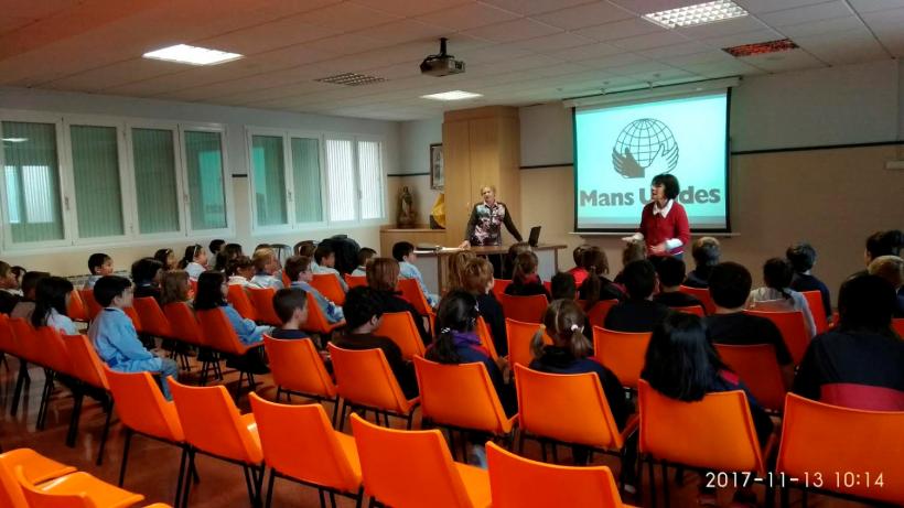 Charla en Colegio El Carme de Tarragona