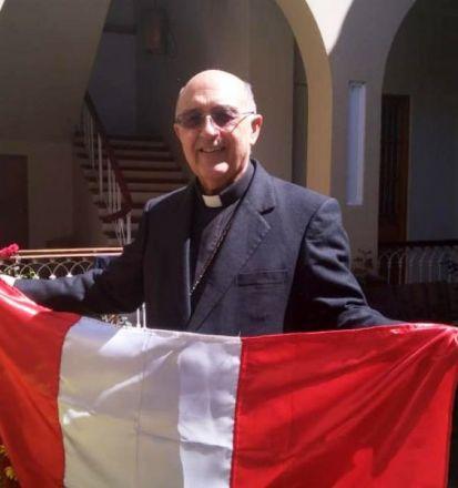 Monseñor Pedro Barreto, Arzobispo de Huancayo (Perú) nuevo Cardenal. Foto Junior Meza/El comercio