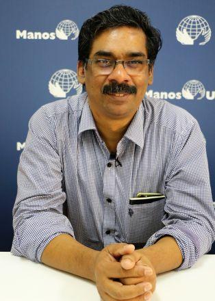 Johny Joseph. Foto: Manos Unidas/Marta Isabel González