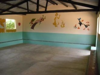 Manos Unidas construye dos aulas de preescolar en Angola