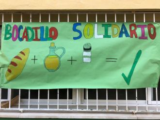 La comunidad educativa de Valencia también se solidariza con quienes sufren hambre.