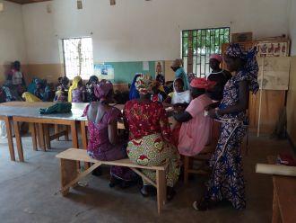 Refuerzo actividades y mejora en la calidad de vida para las mujeres. Fotos: Manos Unidas