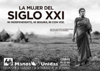 La pobreza tiene rostro de mujer, es una de las ideas básicas de las que esta exposición quiere concienciar.