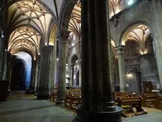 24 horas en la lonja de la Catedral de Jaca