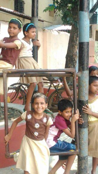 Niños indios. Foto: Manos Unidas