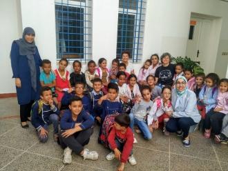 Centro Baraka, en la localidad marroquí de Nador, lugar del Viaje de Formación en el que ha participado Manos Unidas Valencia