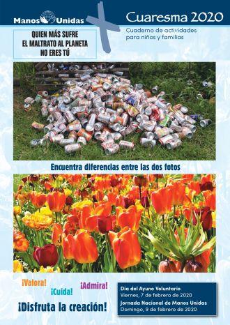 Cuaresma 2020- Cuaderno de actividades para niños y familias. Manos Unidas