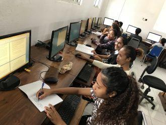 Formación de maestros en Baucau