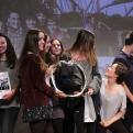 Los alumnos de la Escuela Thau reciben el premio