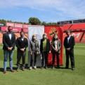 El Club Gimnàstic de Tarragona firma un convenio de colaboración con Manos Unidas