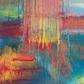 Expresión en Color. 60 x 60 cm. Arte Solidario. Manos Unidas Valencia
