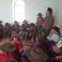 Reunión de familias de Achatalas, Boivia.