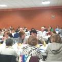 Cena del Hambre en  Manos Unidas Valencia, delegación de Loriguilla