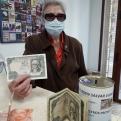 """Donativo anónimo de la campaña """"Tus pesetas pueden salvar vidas"""" de Manos Unidas Valencia."""