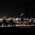 Sociedad Unión Musical de Catarroja durante el concierto solidario en favor de Manos Unidas Valencia.