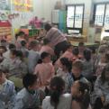 Cuentacuentos en la escuela Beat Bonaventura Gran de Riudoms