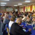 Más de 140 personas asistieron a la Merienda Solidaria