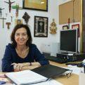 Clara Pardo en su despacho