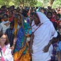 Clara Pardo en la India
