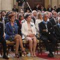 La delegada de Manos Unidas en Ceuta en la entrega de la Orden del Mérito Civil