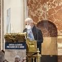 Misa en la Basílica de la Virgen delos Desamparados en el Día del Ayuno Voluntario. Manos Unidas Valencia