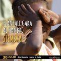 Cartel Día Mundial contra la Trata