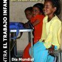 Cartel del Día Mundial contra el trabajo Infantil