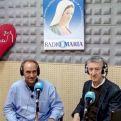 Con el misionero Enrique y Manos Unidas en Radio María